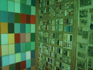 Untitled (Colored Patterns under green light, Erdgeschoss