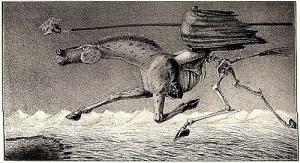 Alfred Kubin Hungersnot 1914