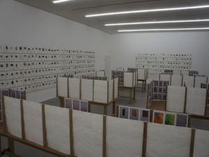 Blick in die Ausstellung, 1. Stockwerk