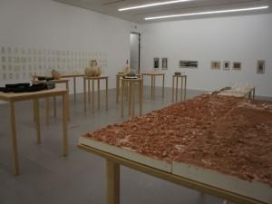 Blick in die Ausstellung, 2. Stockwerk