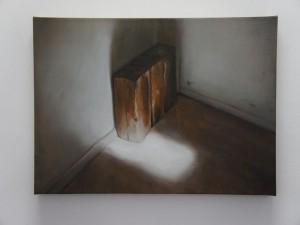 Three logs in a corner, 2011
